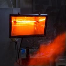 Aquecedores  elétricos  infravermelhos Soltecha para interiores e exteriores