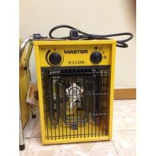 Aquecedor Eléctrico portátil Master Power monofásico de potência variável 1,6Kw-3 kW 5500 BTU's-10236 BTU