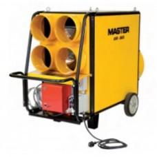 Gerador de ar quente  a diesel série AIR-BUS (combustão indireta) 134Kw 457200 BTU's