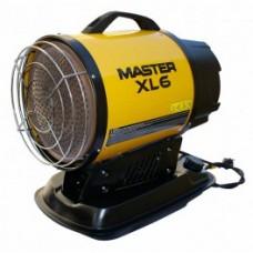 Aquecedor por radiação IR portátil MASTER XL61 com fios e versão autónoma com ou sem rodas