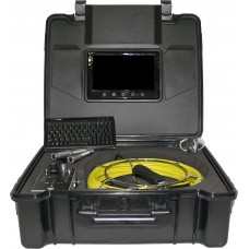"""Borescópio Endoscópio 7 """" industrial Câmara de inspeção de tubagens e Sistema de Vídeo Subaquático 20 metros Wopson até 50 mts com monitor alta-definição"""