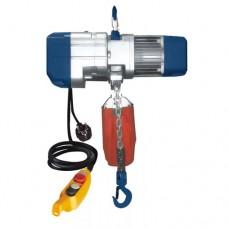 Guincho elétrico de corrente para oficina/garagem para elevação de 500 kg a 6 mts