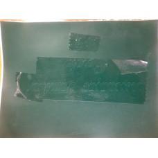 Máscara para pintura em Vinil Mate com 230 micras indicado para jato de areia de baixa pressão 0,61x18,4