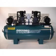 Compressor Rubete 300TDP de motor duplo e patas 3+3 cvs e 780 litros/min