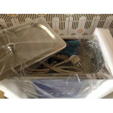 Tina de limpeza por ultra-sons de 6 litros EUMAX -150 W potência ultra-sónica