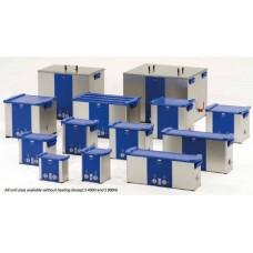 Tinas de limpeza ultra-sónica de frequências fixas ( série S ) e variável ( P) de fabrico alemão e alta qualidade